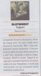 Blutwurst - RUMORE 012017 R